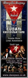 Clave y Son Company present Cuban Combination